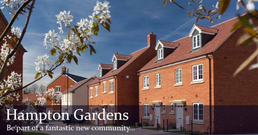 Hampton Gardens plots now available with Regal Park
